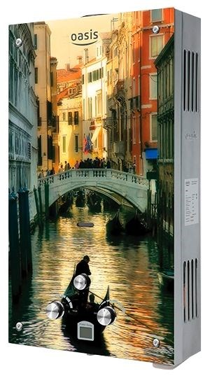 Газовая колонка Оазис Glass 20 TG (Венеция) - фото 5569