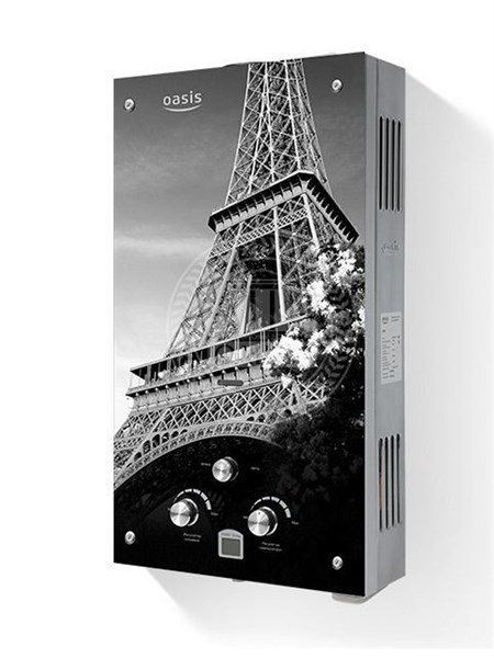 Газовая колонка Оазис Glass 20 EG (Эйфелева башня) - фото 5573