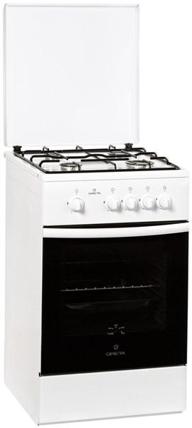 Газовая плита GRETA 1470-16 белая - фото 6676