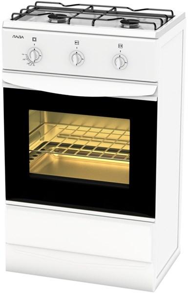 Газовая плита Лада 12.120 (GP 5203 W ) щиток бел - фото 6726
