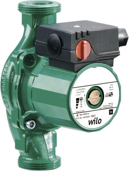 Циркуляционный насос WILO-STAR RS25/4 - фото 7144