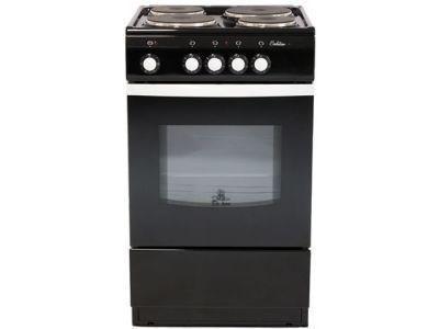 Электрическая плита De Luxe 5004.12 черная - фото 7777