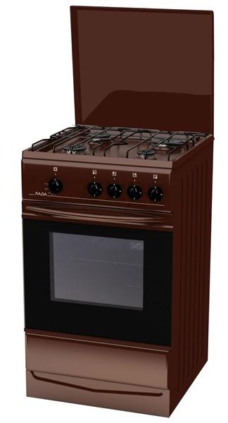 Газовая плита Лада PR 14.120-04.1 BR крышка - фото 8279