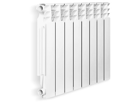 Радиатор алюминиевый Оазис премиум узкие   8 сек RU 500/80 - фото 9273