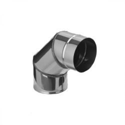 Колено угол 90° (430/0,5 мм) Ф80 (уп. 4 шт)