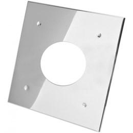 Экран защитный (430/0,5 мм) 500*500 с отв. Ф280