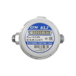 Газовый счетчик СГМБ- 3,2  (1/2)  Орел(c выносной батарейкой)