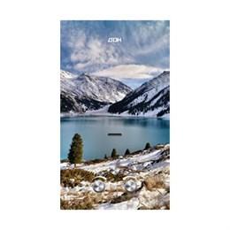 Газовая колонка  Дон  JSD-20 EGFT winter mountain (зимние горы)