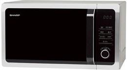 Микроволновая печь Sharp R-7852RSL (серебристая, 25л,гриль)