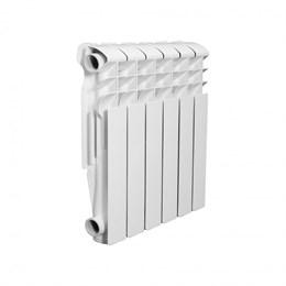Радиатор алюминиевый AQUAPROM AL 500/80/6 секций. A21 (синий квадрат)