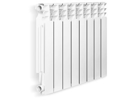 Радиатор биметаллический Оазис 350/80/8сек