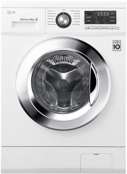 Стиральная машина LG F 1096TD3 8кг, 60x55x85 - фото 5149