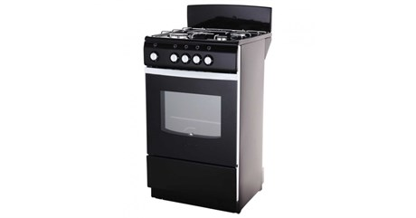 Газовая плита De Luxe 5040.38 щиток черная - фото 6770