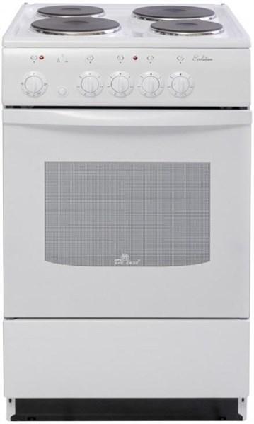 Электрическая плита De Luxe 5004.12э белая - фото 6772
