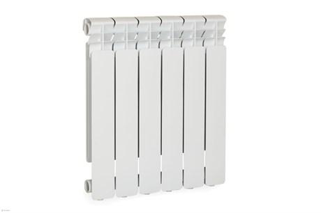 Радиатор алюминиевый Lammin 6 сек 350/80 - фото 9265