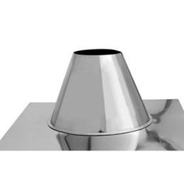 Крышная разделка прямая (430/0,5) Ф80