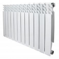Радиатор бимет. AQUAPROM BI 350/80/12 секций. B41 (зеленый квадрат)