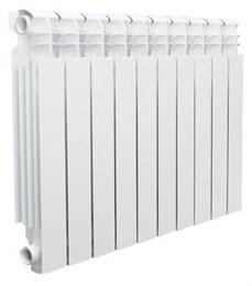Радиатор бимет. AQUAPROM BI 350/80/10 секций. B41 (зеленый квадрат)