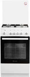 Газоэлектрическая плита De Luxe 5040.40гэ (кр) ЧР