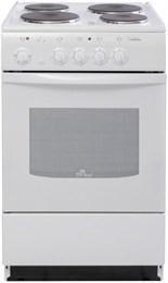 Электрическая плита De Luxe 5004.12э белая