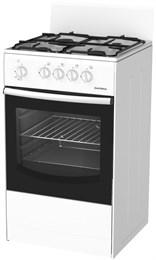 Газовая плита  ДАРИНА GM 441 001 W( S) Газмаш нового образц