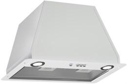 Зонт вытяжной ELICOR Блок врезной Flat 72П-650-КЗД (белый)