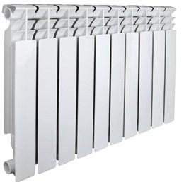 Радиатор алюминиевый AQUAPROM AL 350/80/10 секций. A52 (синий квадрат)