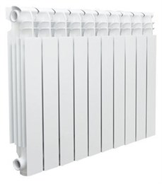 Радиатор алюминиевый VALFEX OPTIMA L Version 2.0 (10 сек.) 500/80