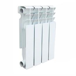 Радиатор алюминиевый AQUAPROM AL 500/80/4 секций. A21 (синий квадрат)