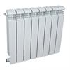 Радиатор биметаллический AQUAPROM BI 500/80/8 секций. B21 (синий квадрат) - фото 9257
